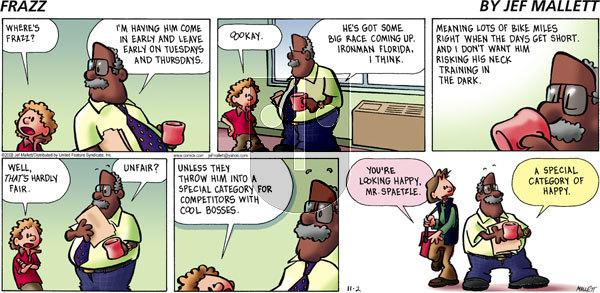 Frazz on Sunday November 2, 2008 Comic Strip