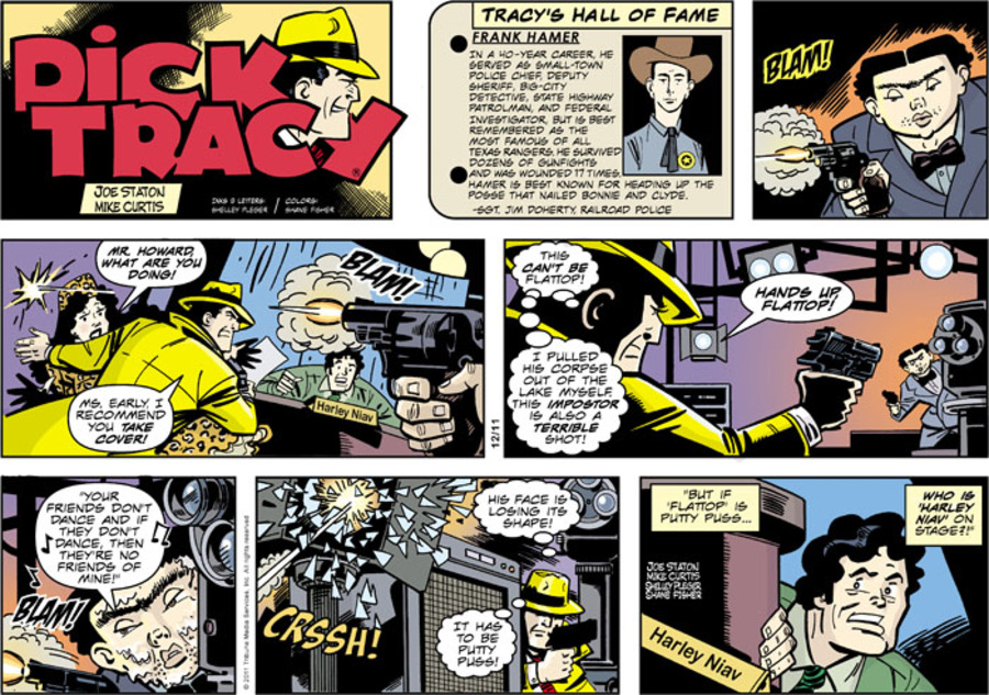 Dick Tracy Comic Strip for December 11, 2011