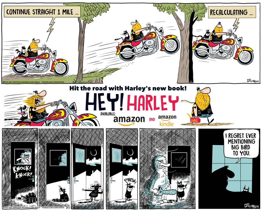 Harley by Dan Thompson for March 03, 2019