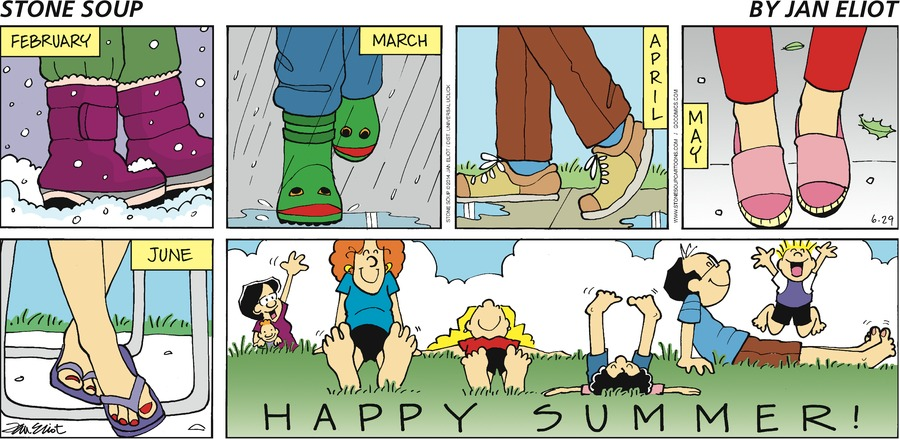 Stone Soup Comic Strip for June 29, 2014