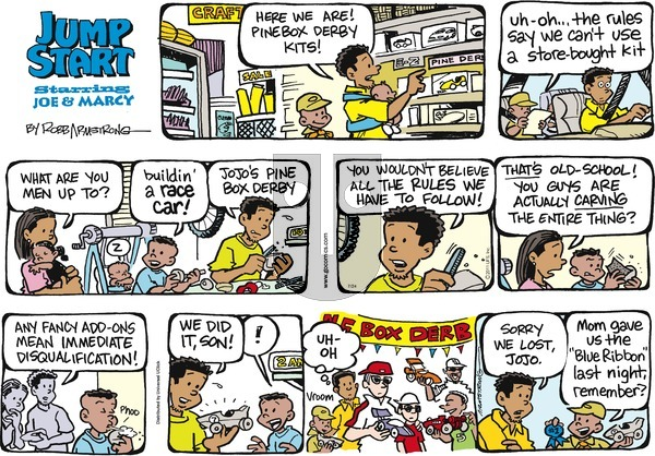 JumpStart on Sunday July 24, 2016 Comic Strip