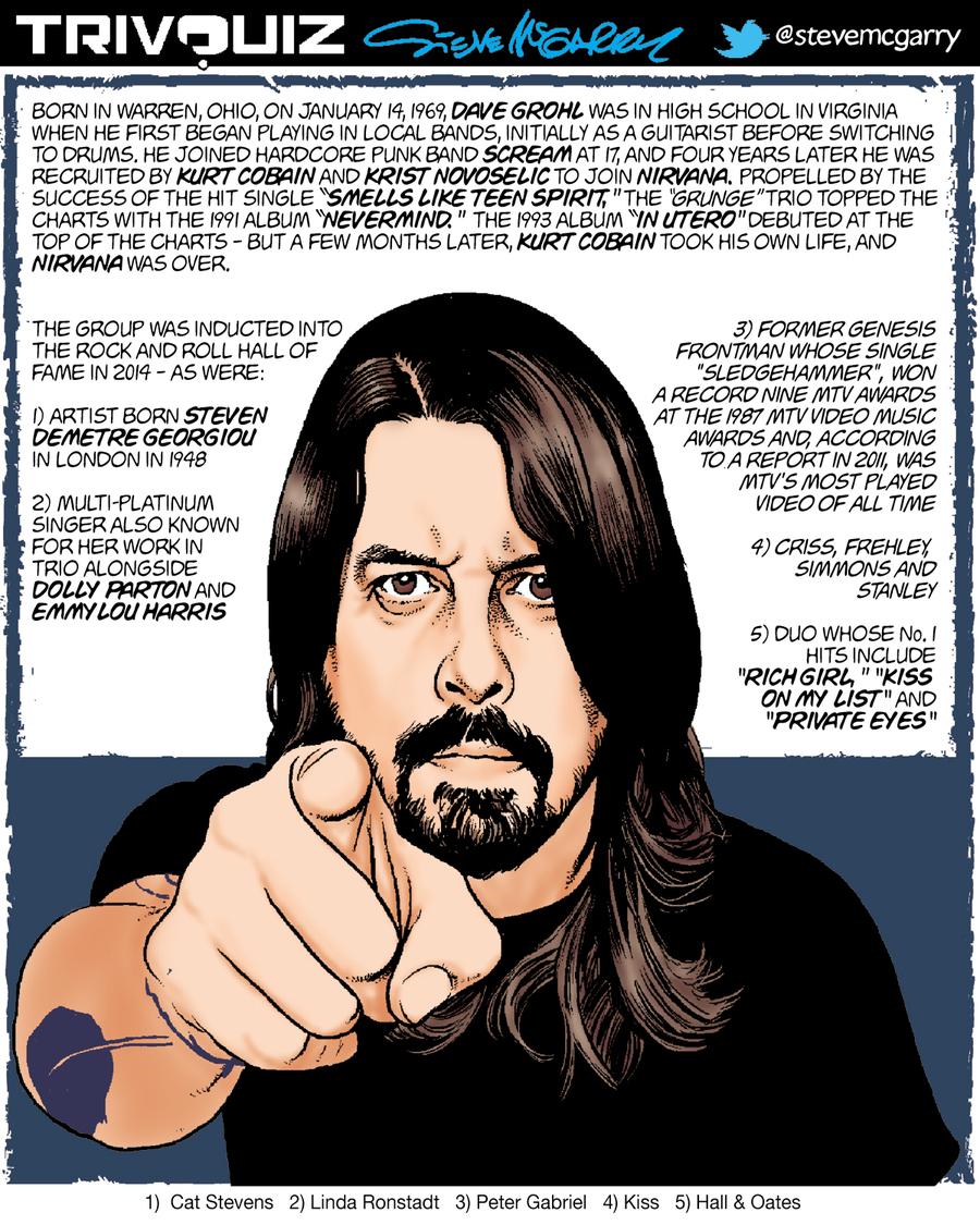 Trivquiz Comic Strip for January 14, 2020