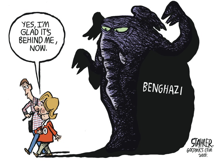 Jeff Stahler Comic Strip for October 25, 2015