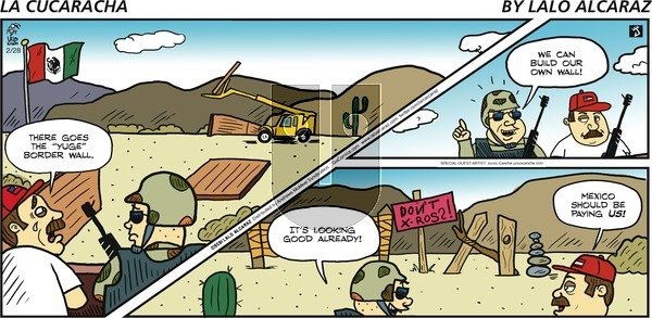 La Cucaracha on Sunday February 28, 2021 Comic Strip