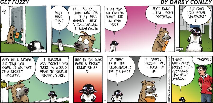 Get Fuzzy Comic Strip for April 19, 2020