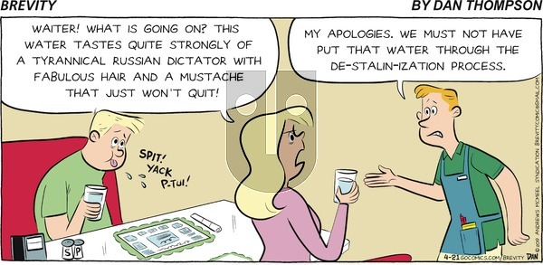 Brevity on Sunday April 21, 2019 Comic Strip