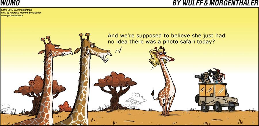 WuMo Comic Strip for June 09, 2019