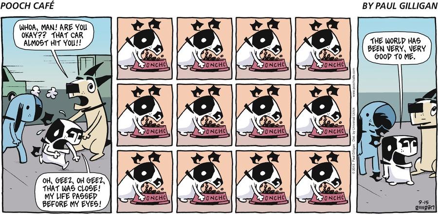 Pooch Cafe Comic Strip for September 15, 2013