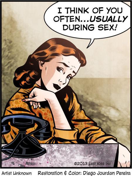 Last Kiss for Nov 20, 2013 Comic Strip
