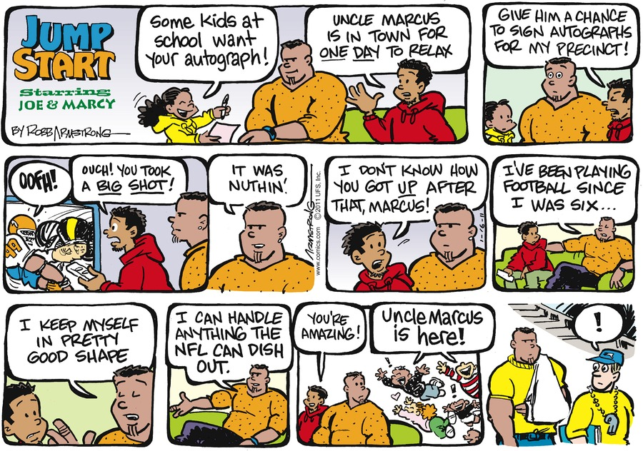 JumpStart for Jan 16, 2011 Comic Strip