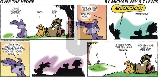 Over the Hedge on Sunday September 10, 2017 Comic Strip