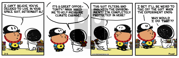 Pirate Mike on Thursday February 14, 2019 Comic Strip