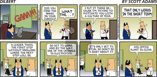 Dilbert on Sunday December 23, 2012 Comic Strip