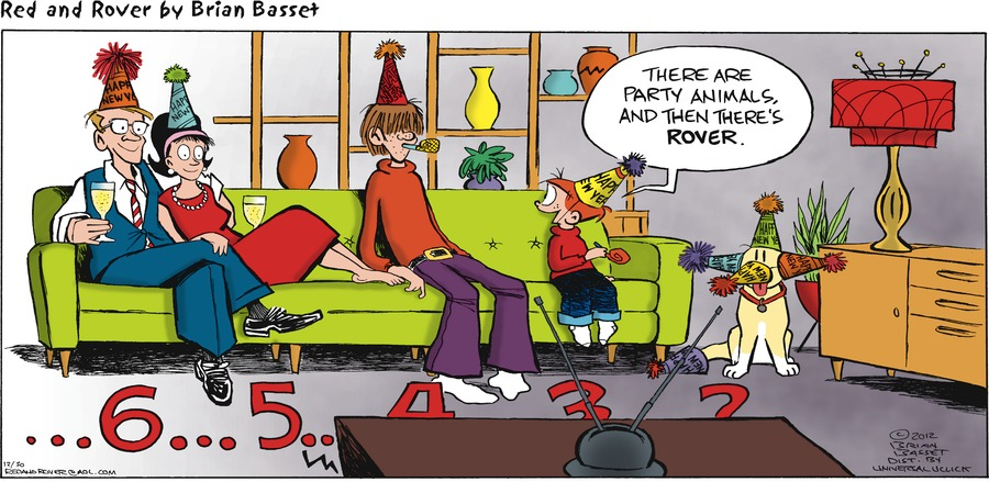 Red and Rover Comic Strip for December 30, 2012