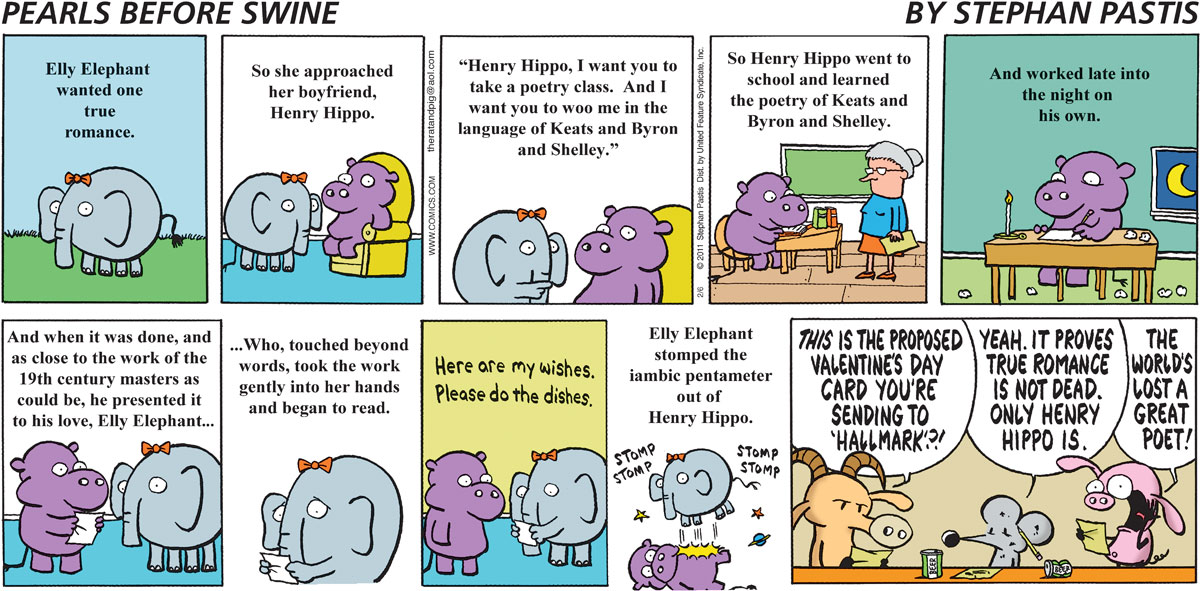 Pearls Before Swine Comic Strip for February 06, 2011