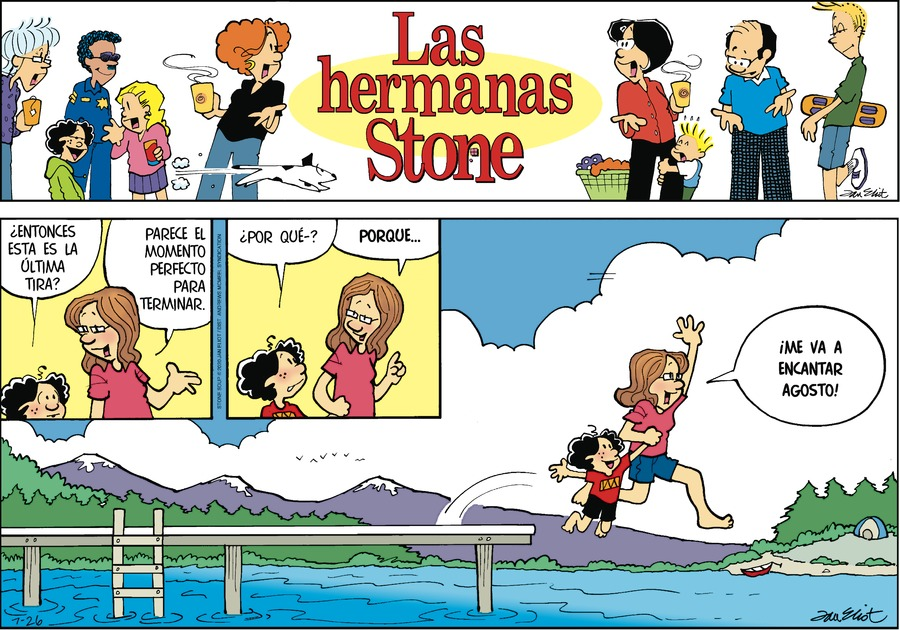 Las Hermanas Stone Comic Strip for July 26, 2020