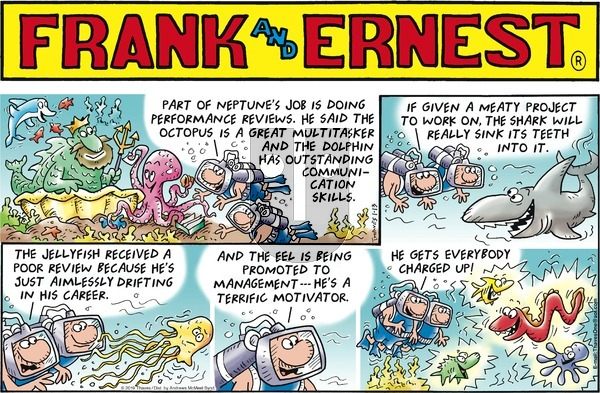Frank and Ernest on Sunday January 13, 2019 Comic Strip