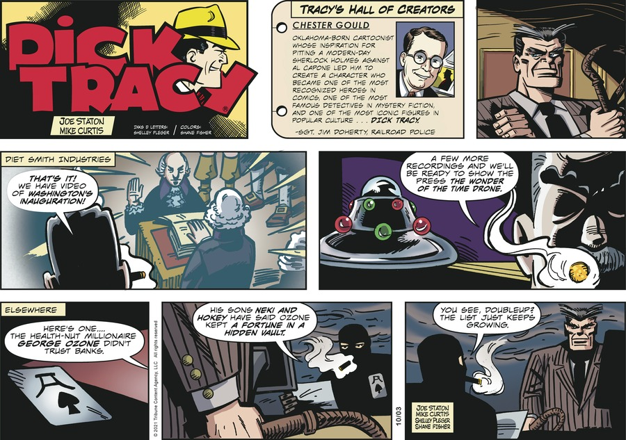 Dick Tracy by Mike Curtis and Shelley Pleger on Sun, 03 Oct 2021
