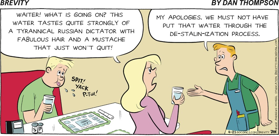 Brevity Comic Strip for April 21, 2019