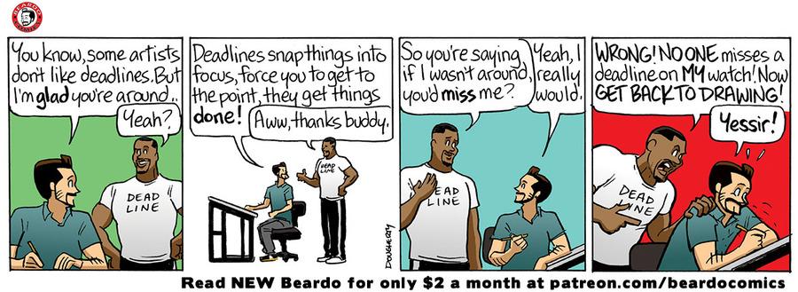 Beardo Comic Strip for June 14, 2021