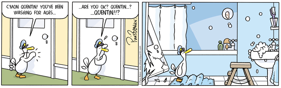 Ollie and Quentin for Sep 7, 2012 Comic Strip