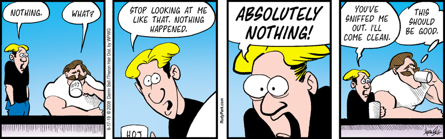 Rudy Park Comic Strip for June 17, 2019