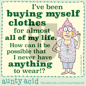Aunty Acid on Monday October 7, 2019 Comic Strip