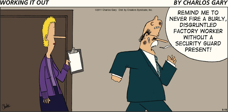 Working It Out Comic Strip for September 19, 2021