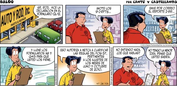 Baldo en Español