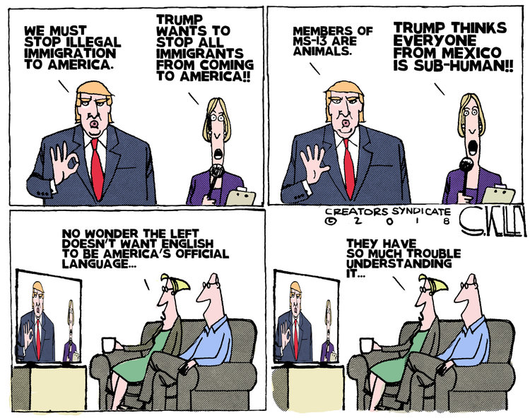 Steve Kelley for May 21, 2018 Comic Strip