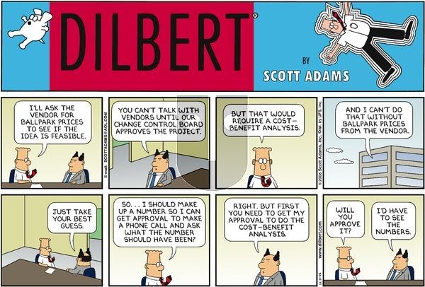 Dilbert - Sunday December 31, 2006 Comic Strip