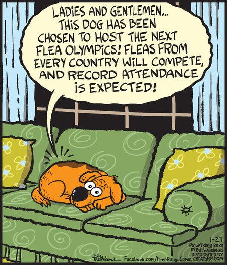 Free Range Comic Strip for January 27, 2020