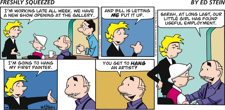 Freshly Squeezed Comic Strip for February 07, 2021