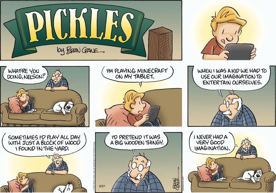 Pickles Comic Strip for September 27, 2020