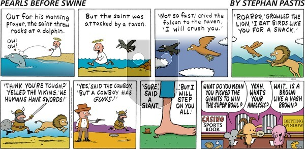 Pearls Before Swine on Sunday October 22, 2017 Comic Strip
