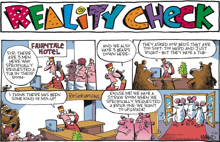 Reality Check for May 20, 2018 Comic Strip