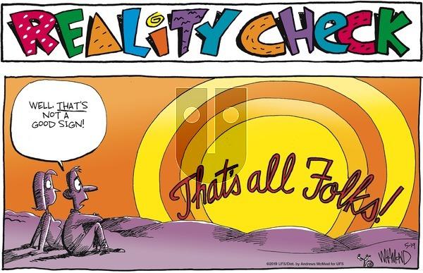 Reality Check on Sunday May 19, 2019 Comic Strip