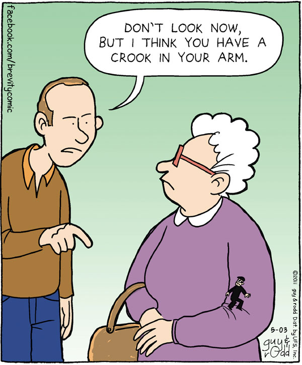 Brevity Comic Strip for May 03, 2011