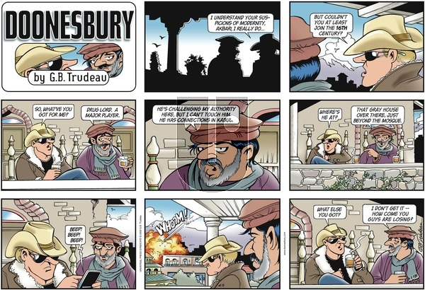 Doonesbury on Sunday April 5, 2009 Comic Strip