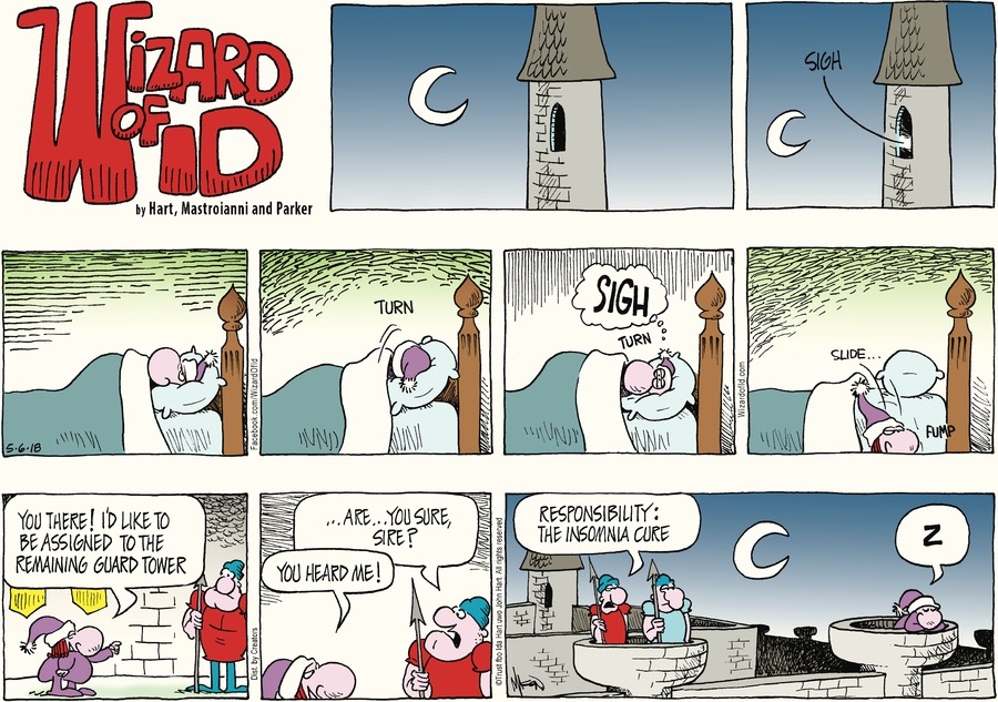 Wizard of Id Comic Strip for May 06, 2018
