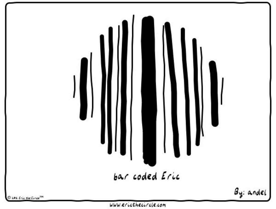 Eric the Circle for Dec 8, 2012 Comic Strip