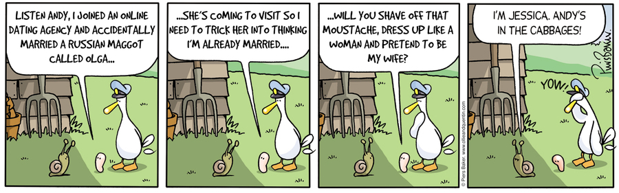 Ollie and Quentin Comic Strip for September 05, 2012
