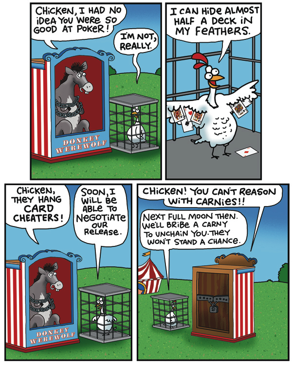 2 Cows and a Chicken by Steve Skelton for July 15, 2019