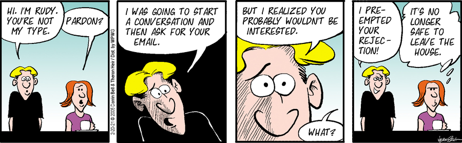 Rudy Park Comic Strip for February 20, 2021
