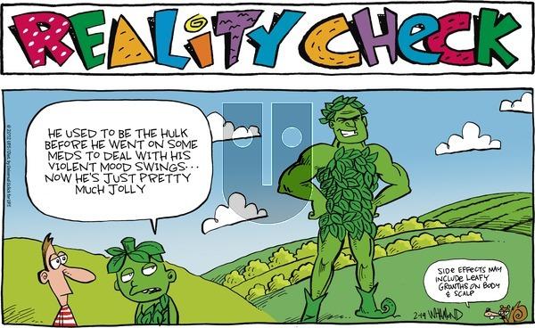 Reality Check on Sunday February 19, 2012 Comic Strip