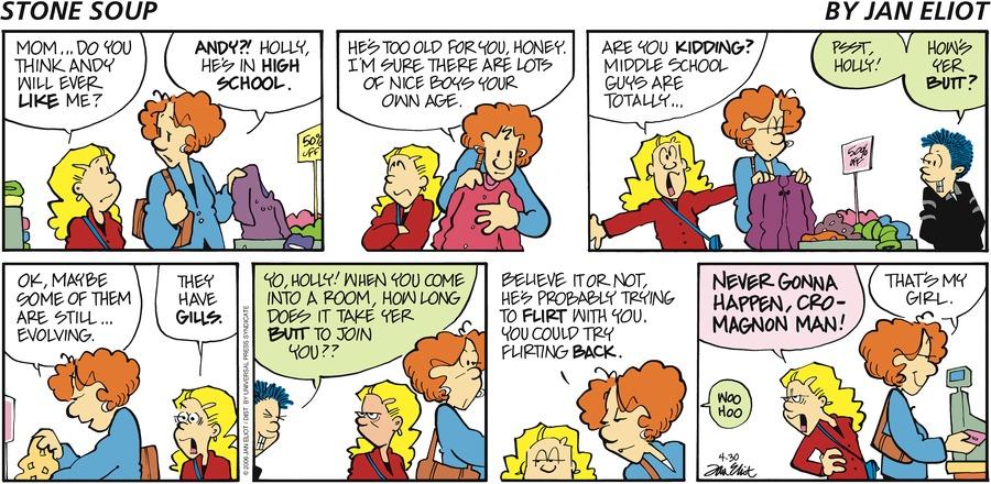 Stone Soup Comic Strip for April 30, 2006