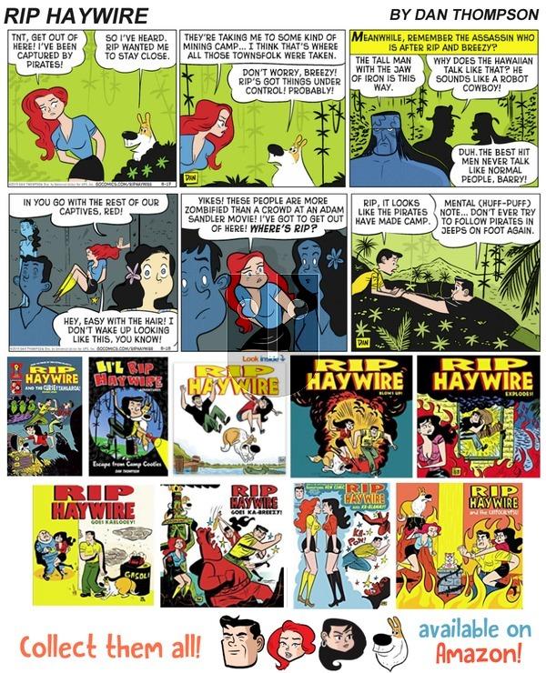 Rip Haywire on Sunday February 18, 2018 Comic Strip