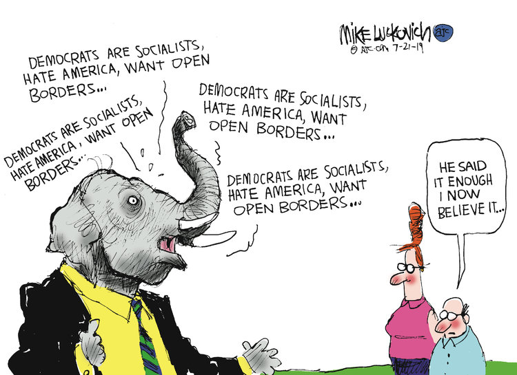 Mike Luckovich Comic Strip for July 21, 2019
