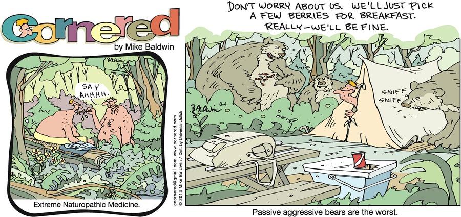 Cornered for Aug 4, 2013 Comic Strip