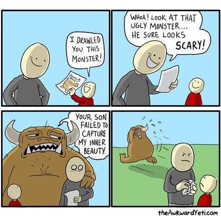 The Awkward Yeti Comic Strip for March 29, 2015